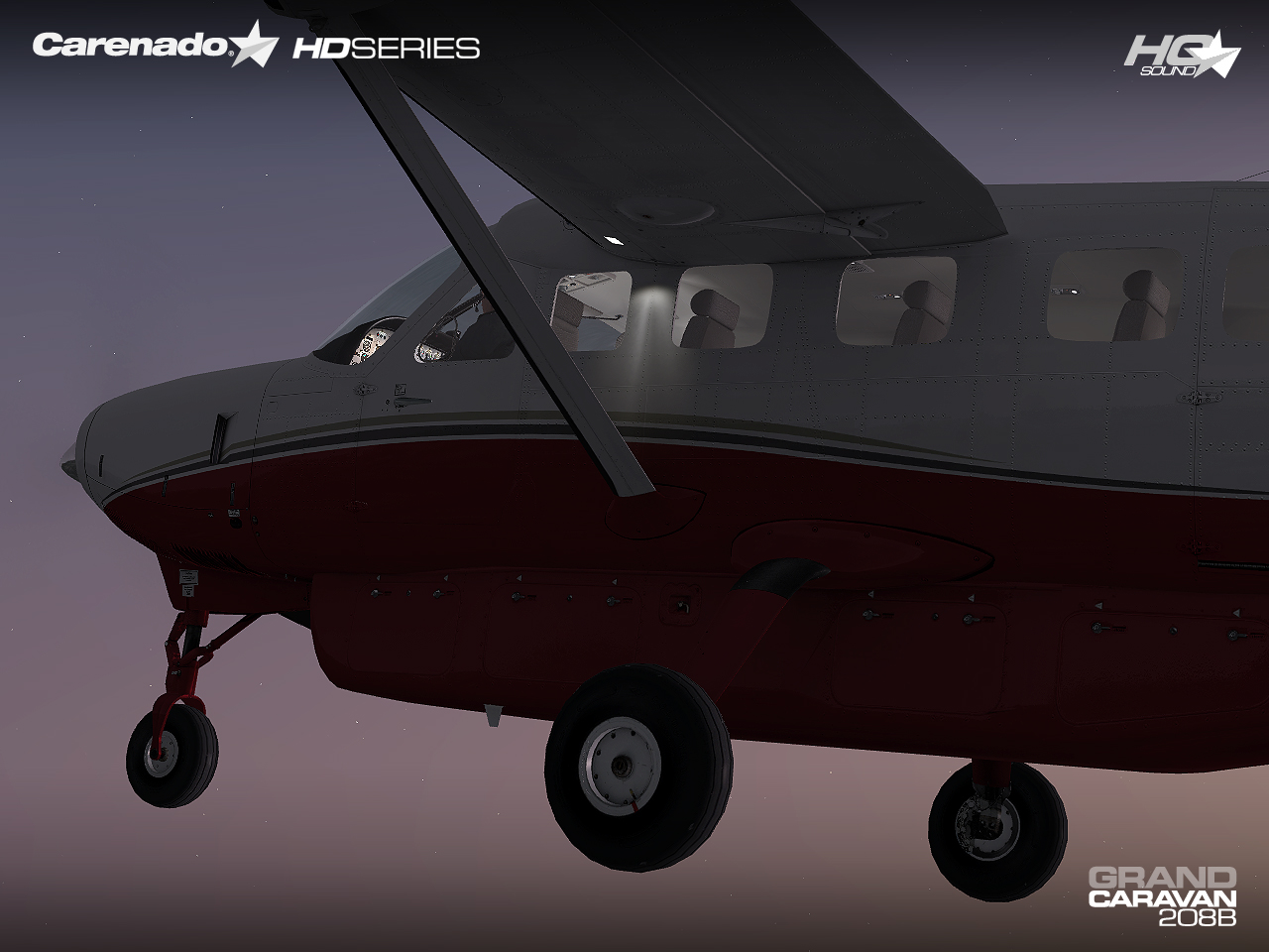 CARENADO - C208B GRAND CARAVAN FSX P3D HD SERIES