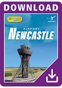 AEROSOFT - AIRPORT NEWCASTLE XP X-PLANE 11
