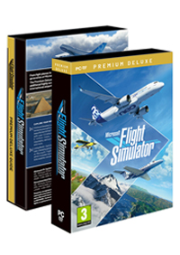 MICROSOFT FLIGHT SIMULATOR PREMIUM DELUXE BOX