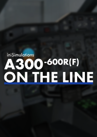 INIBUILDS - INISIMULATIONS A300-600R(F) ON THE LINE X-PLANE 11