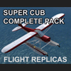 FLIGHT REPLICAS - SUPER CUB - COMPLETE PACK