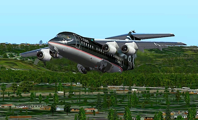 THE AVROLINER PROJECT - AVRO RJ70 X-PLANE 9 & 10
