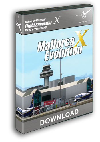 AEROSOFT - MALLORCA X EVOLUTION FSX+FSX:SE+P3D (DOWNLOAD)
