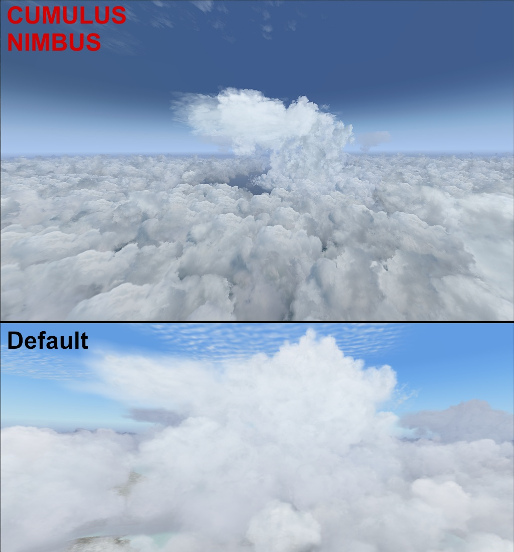 AFS-DESIGN - WATER & CLOUDS 2 FSX