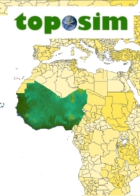 TOPOSIM - CONTINENTS - WEST AFRICA BUNDLE