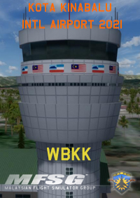 MFSG - KOTA KINABALU INTERNATIONAL AIRPORT WBKK 2018 FSX P3D FS2004