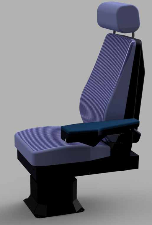 COCKPITSONIC GMBH - A320 PILOT SEAT FULL ELECTRICAL ADJUSTABLE
