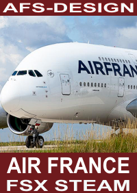 AFS-DESIGN - AIRBUS COLLECTION - AIR FRANCE V2 FSX-STEAM