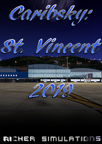 RICHER SIMULATIONS - CARIBSKY: ST. VINCENT 2019 XP11