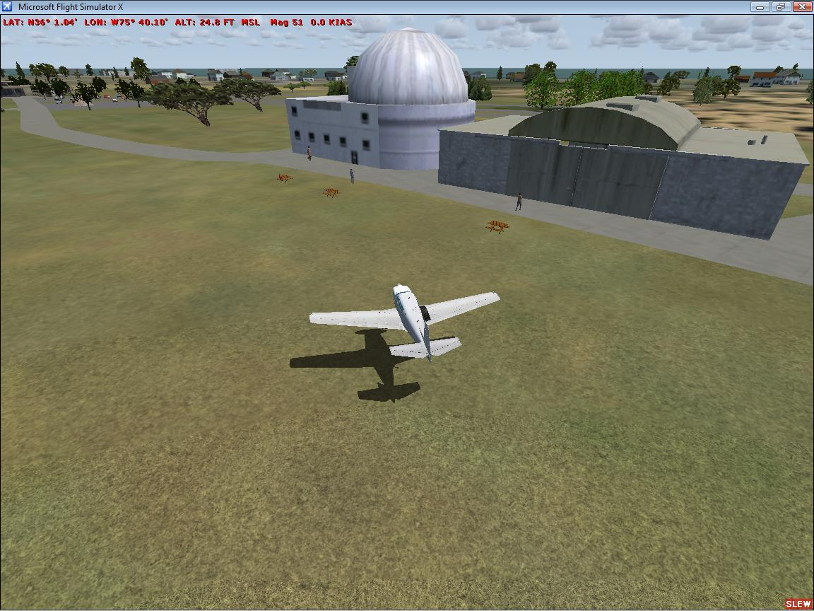 WORLDWIDE SIMULATIONS - FIRST FLIGHT AIRPORT KFFA