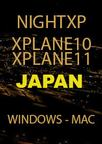 TABURET - NIGHT XP JAPAN FOR X-PLANE 10/11