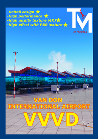 TAIMODELS - VAN DON INTERNATIONAL AIRPORT- VVVD- X-PLANE 11