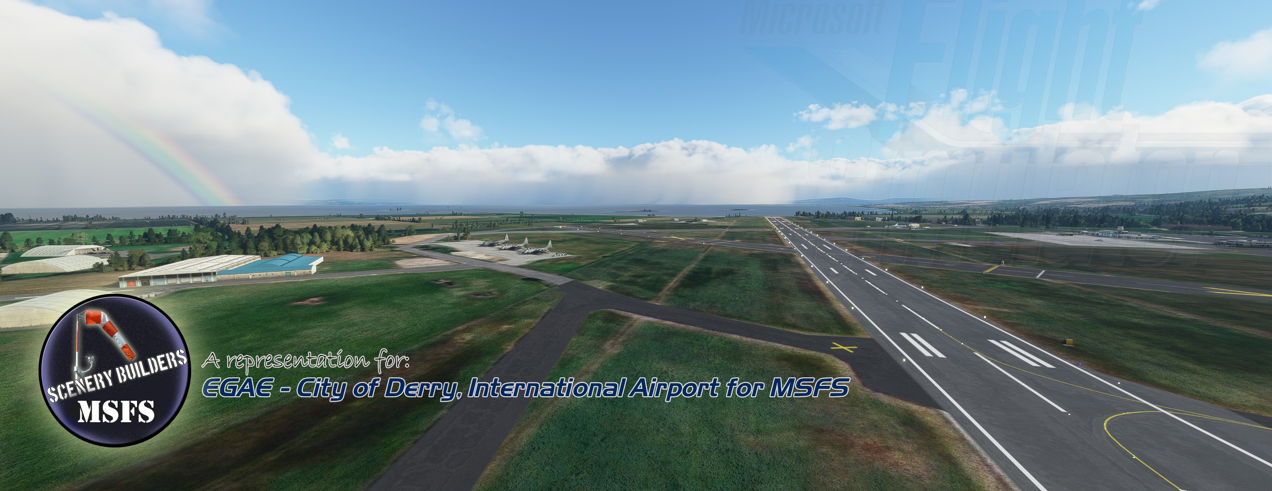 FSXCENERY - EGAE CITY OF DERRY AIRPORT MSFS