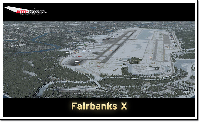 AEROSOFT - FAIRBANKS X FSX P3D FS2004