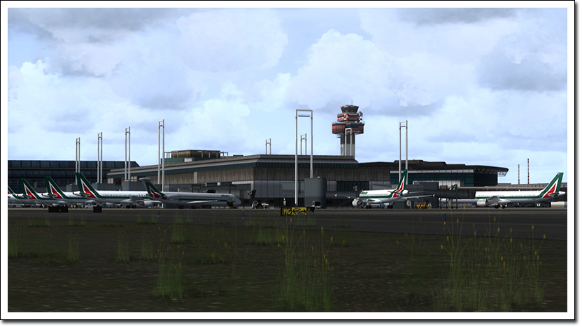 AEROSOFT - MEGA AIRPORT ROME FS2004 (DOWNLOAD)