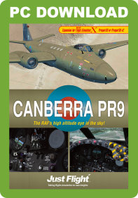 JUSTFLIGHT - CANBERRA PR9 FSX P3D (DOWNLOAD)