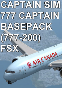 CAPTAIN SIM - 777 CAPTAIN BASEPACK (777-200) FSX