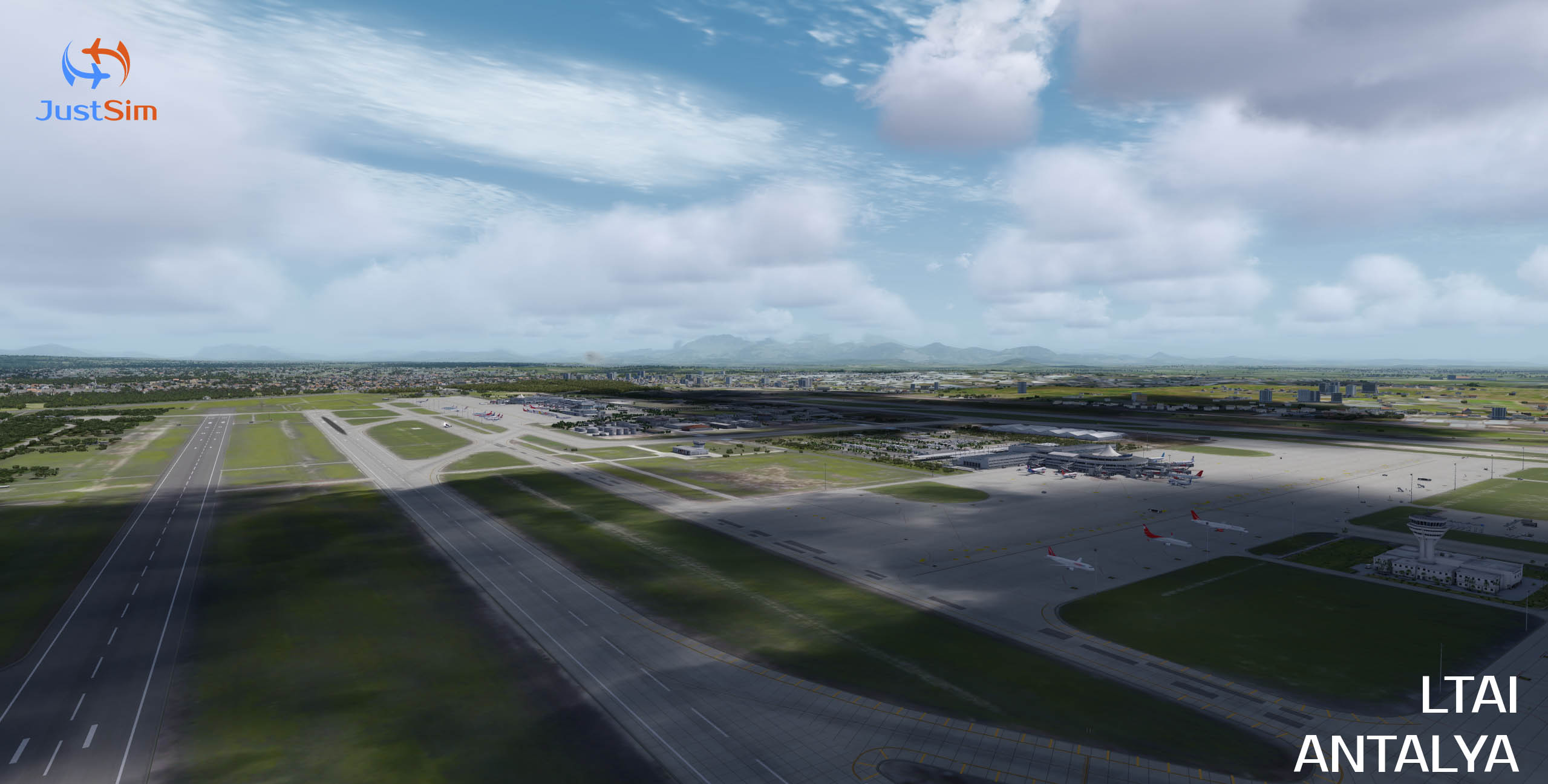 JUSTSIM - ANTALYA INTERNATIONAL AIRPORT LTAI V1.2 P3D4