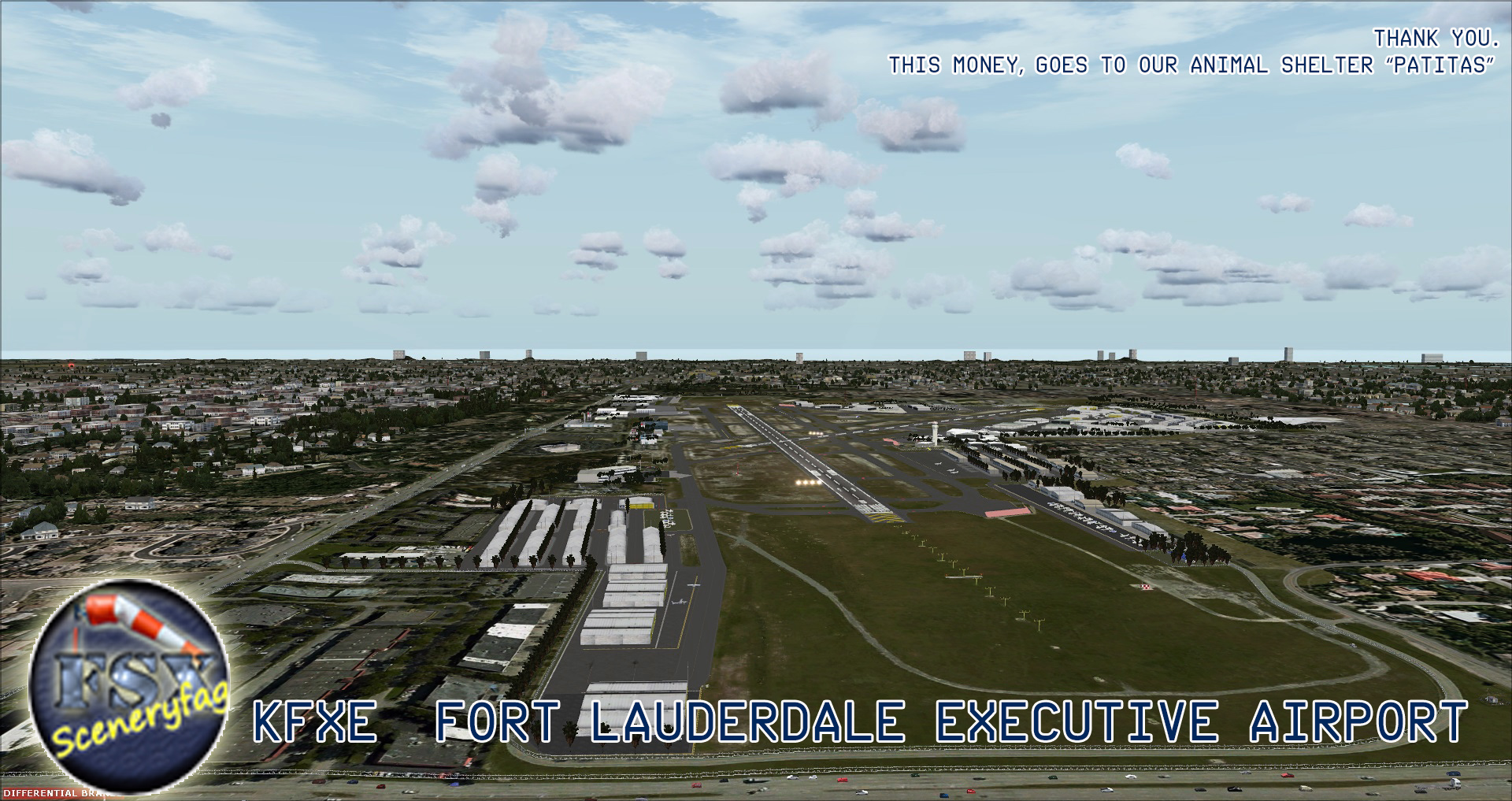 FSXCENERY - KFXE  FORT LAUDERDALE EXECUTIVE AIRPORT FSX
