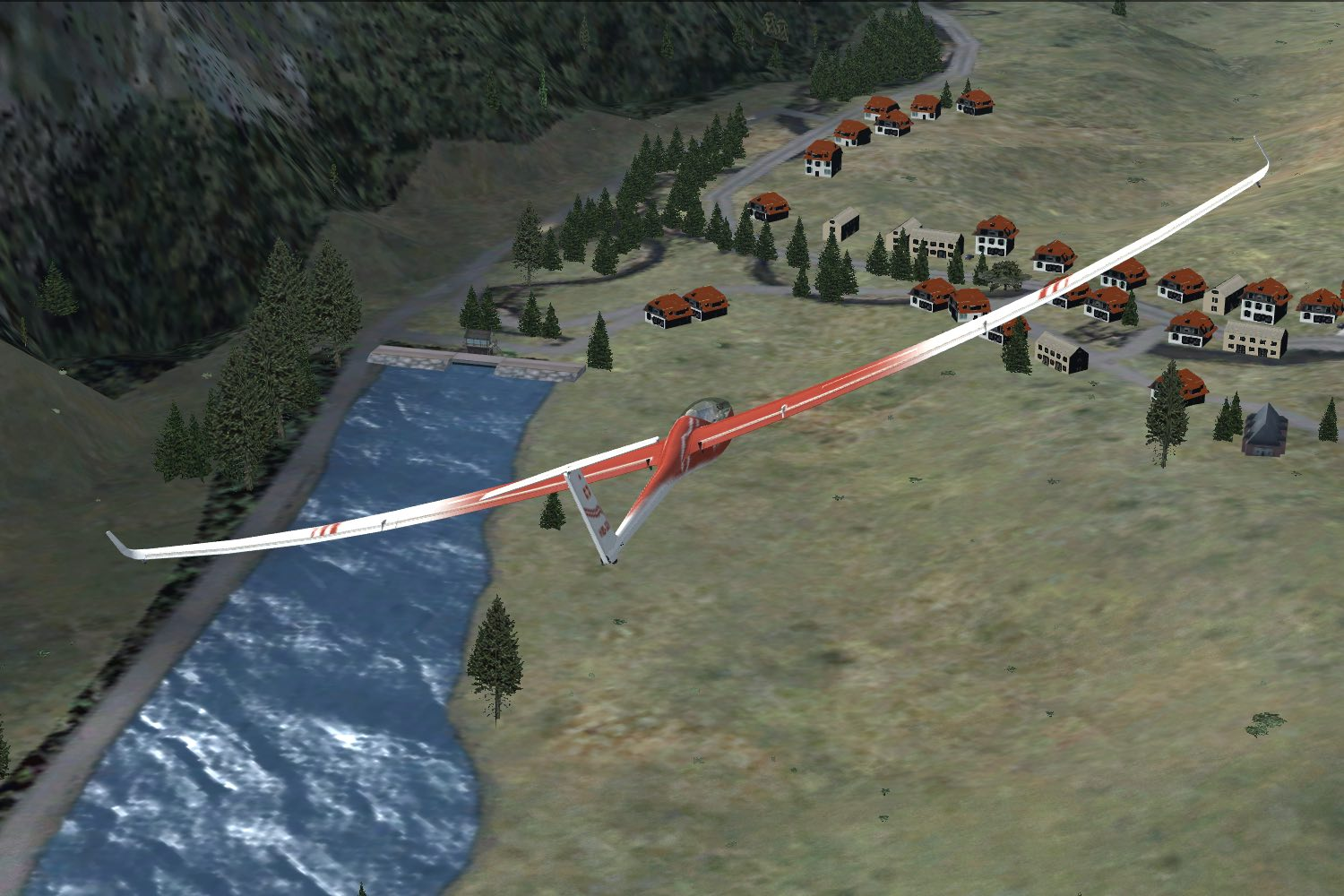 ESCI FLIGHTSIM PUBLICATIONS - PILATE'S GHOST - A TECHNO-THRILLER SET IN THE SWISS ALPS - FSX