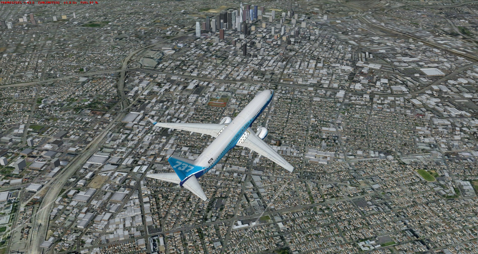 REALWORLD SCENERY - CALIFORNIA 3D ENVIRONMENT FSX P3D