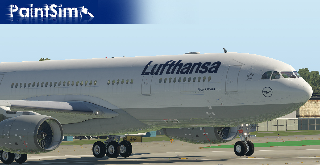 PAINTSIM - HD REPAINTS FOR JARDESIGN AIRBUS A330-200 X-PLANE 10/11