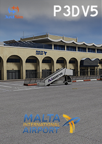 JUSTSIM - MALTA INTERNATIONAL AIRPORT V.2 P3D5
