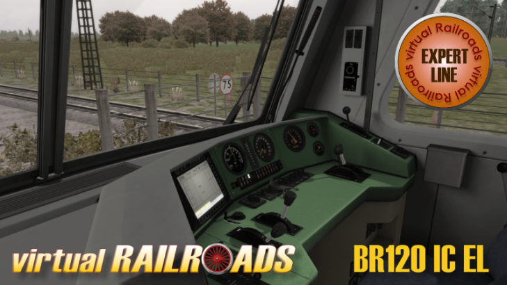 VIRTUAL RAILROADS - DB BR120 / BPMBDZF IC EXPERT LINE