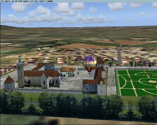 AIRSIM - MONUMENTS DE FRANCE L'EST 2004
