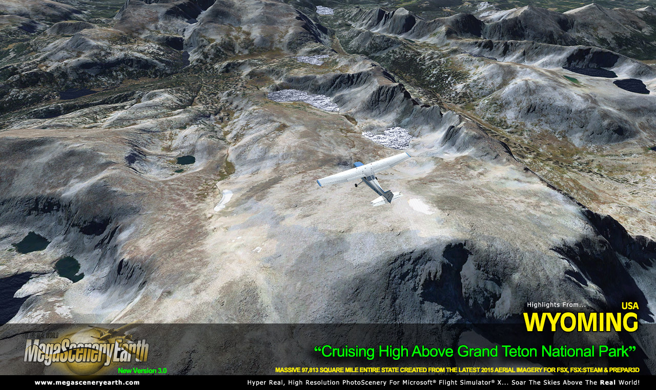 MEGASCENERYEARTH - PC AVIATOR - MEGASCENERY EARTH V3 - WYOMING FSX P3D
