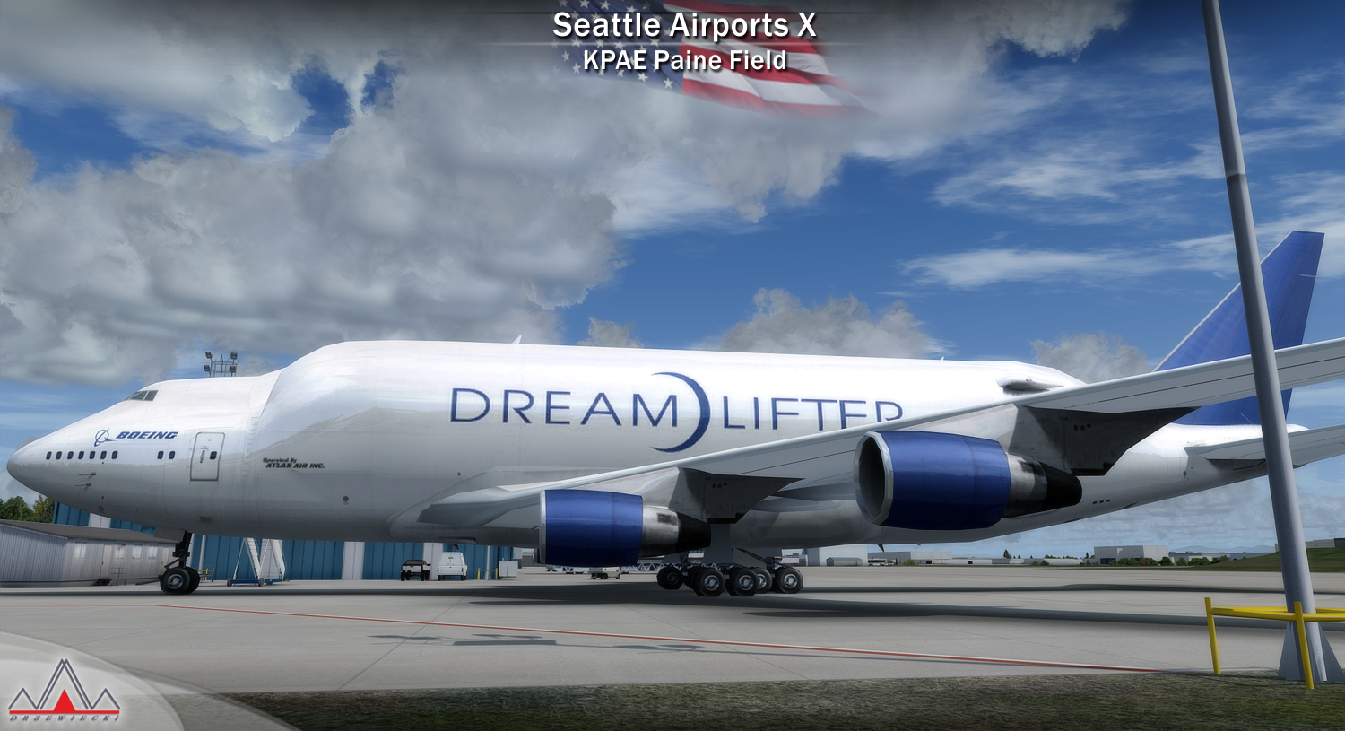 DRZEWIECKI DESIGN - SEATTLE AIRPORTS X FOR FSX P3D