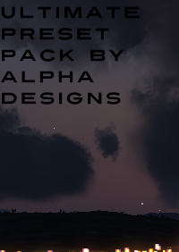 ALPHA DESIGNS - ULTIMATE PRESET PACK P3DV4