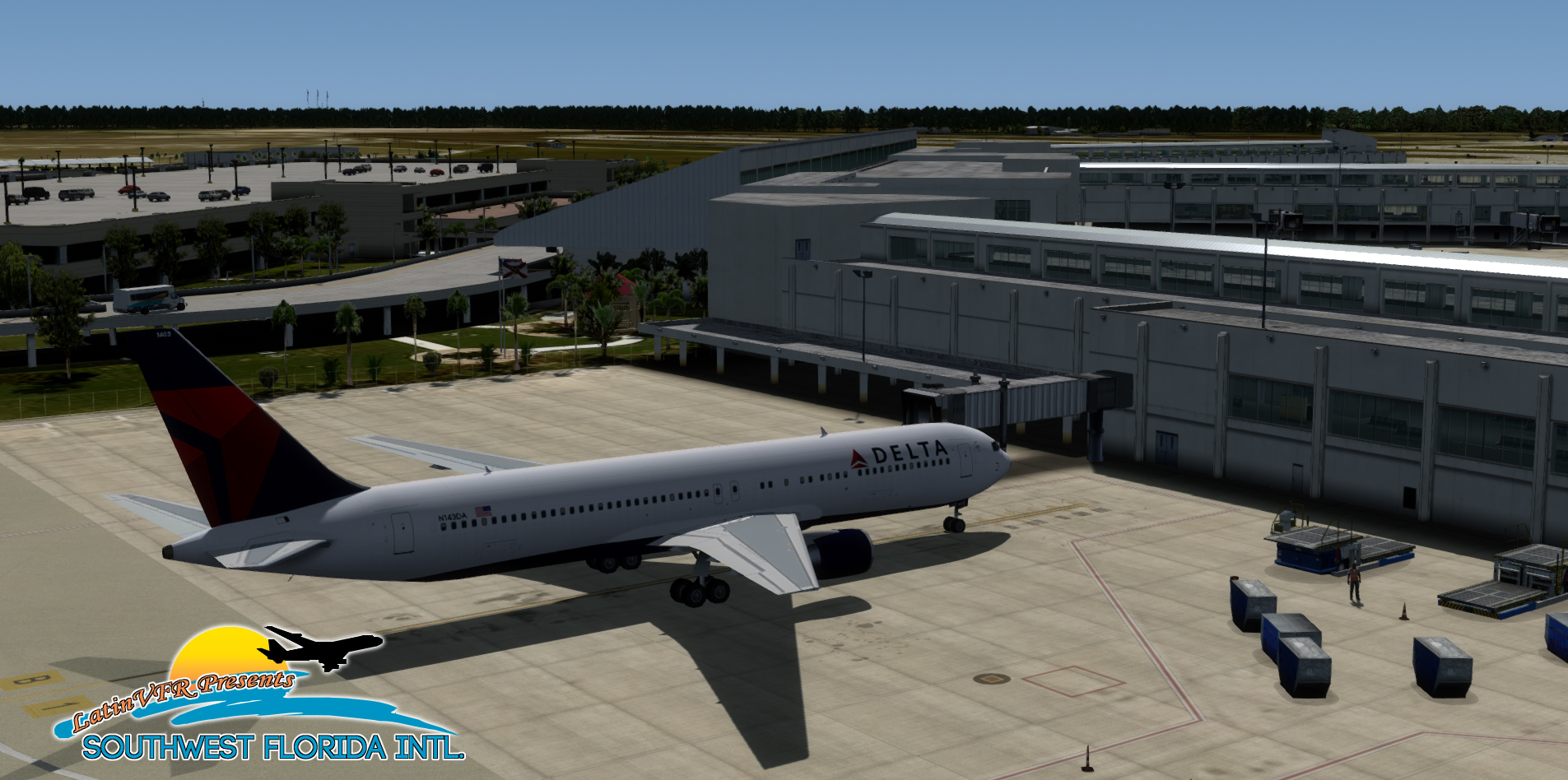 LATINVFR - SOUTH WEST FLORIDA FORT MYERS INTL KRSW FSX P3D