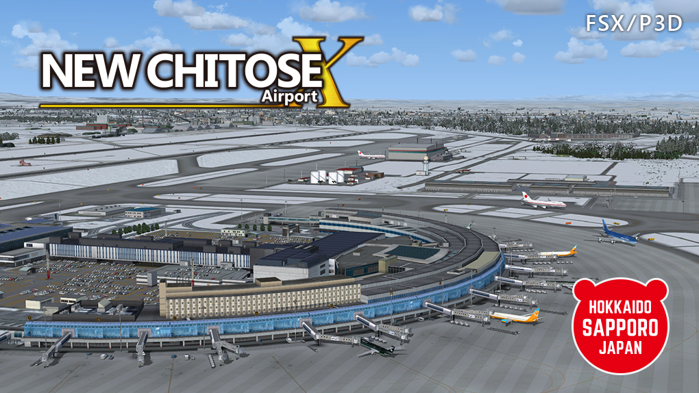TECHNOBRAIN - FS ADD-ON COLLECTION NEW CHITOSE AIRPORT FSX P3D