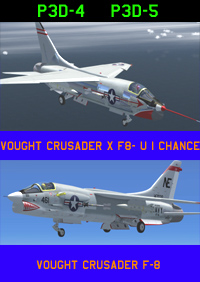 ROLAND LABORIE - VOUGHT CRUSADER F-8 P3D4-5