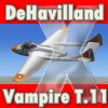 VIRTAVIA -DE HAVILLAND VAMPIRE T.11