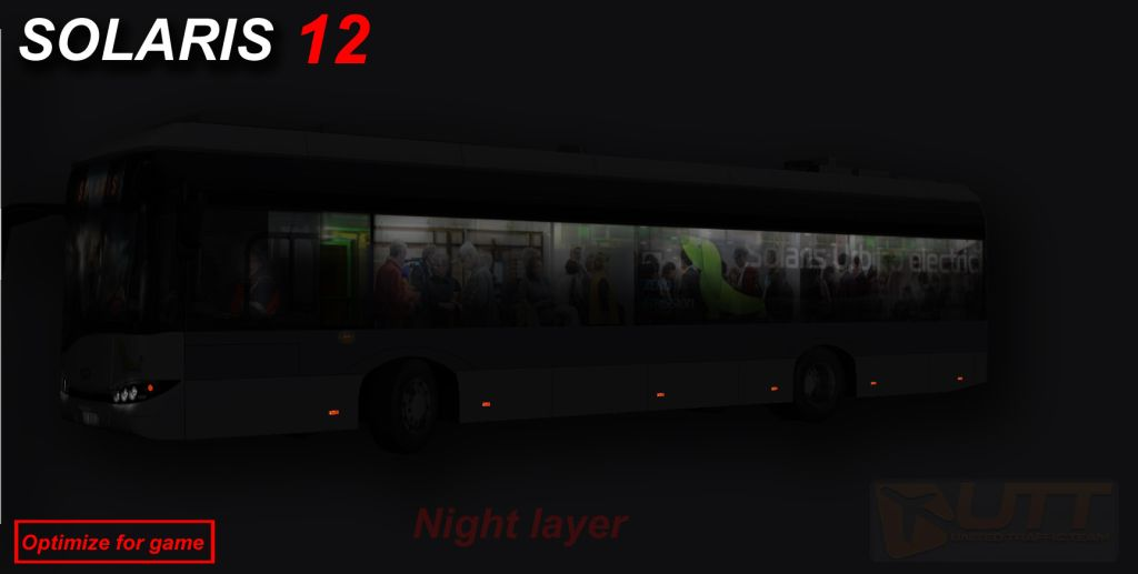 UTT - SOLARIS URBINO ELECTRIC 12 SOURCE MODEL FOR 3DS MAX