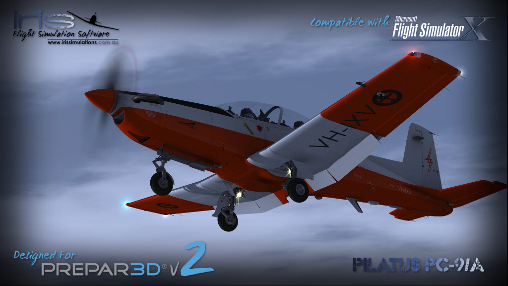 IRIS PRO TRAINING SERIES - PILATUS PC-9/A P3D