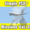 SIMPLE FSX MISSIONS VOL. 2 - EUROPEAN APPROACHES