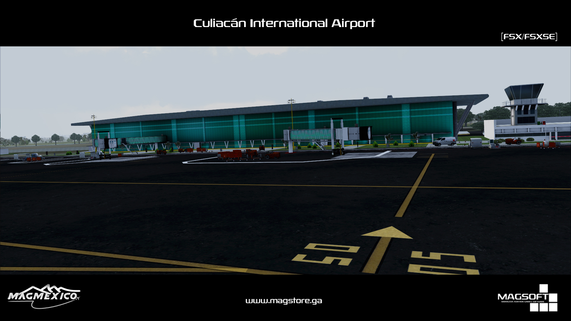 MAGMEXICO - CULIACÁN INTERNATIONAL AIRPORT FSX
