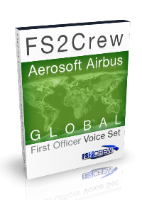 FS2CREW - AEROSOFT AIRBUS SERIES GLOBAL FO VOICE SET FSX P3D