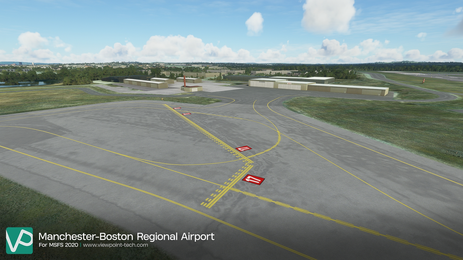 VIEWPOINT TECHNOLOGIES - MANCHESTER-BOSTON REGIONAL AIRPORT KMHT V2 MSFS