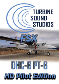 TURBINE SOUND STUDIOS - DHC-6 PT-6 TWIN OTTER HD PILOT EDITION SOUNDPACK FOR FSX