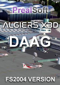 PREALSOFT - ALGIERS AIRPORT DAAG FS2004