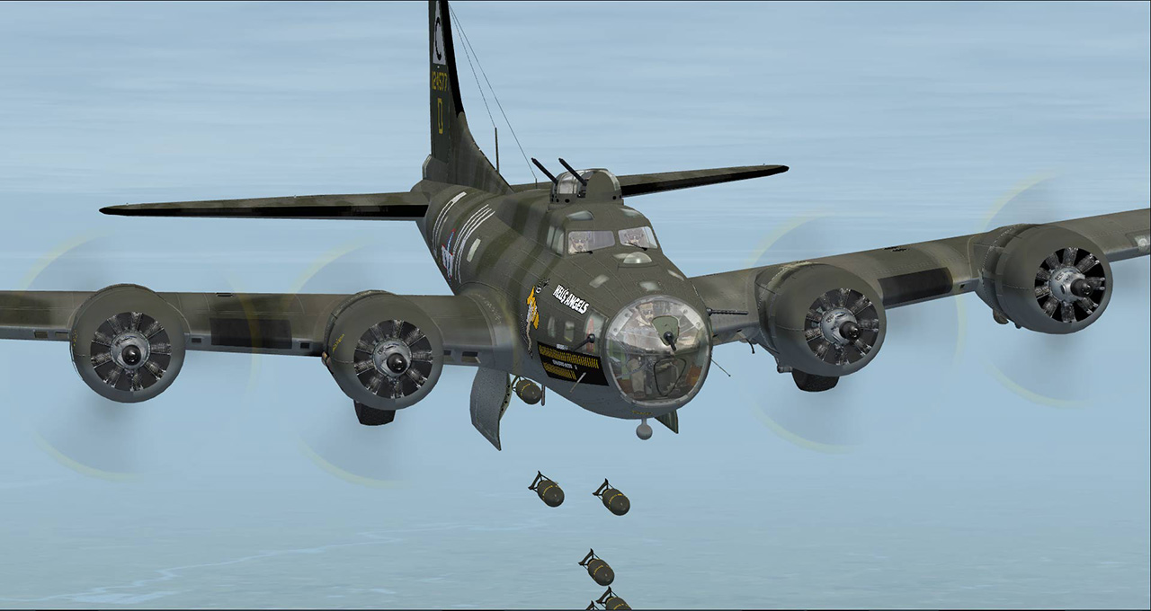 AEROPLANE HEAVEN - B17F/G FLYING FORTRESS  FSX P3D