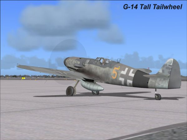 FLIGHT REPLICAS - MESSERSCHMITT BF-109G SERIES V1.01