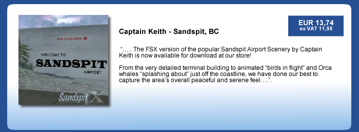Captain Keith - Sandspit Airport