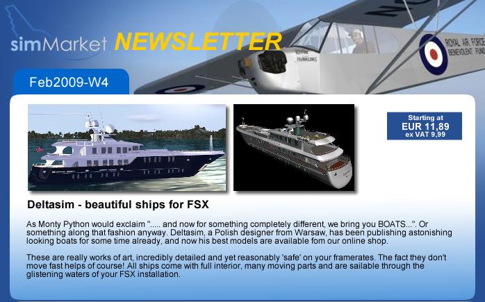 Deltasim Studio - FSX ships